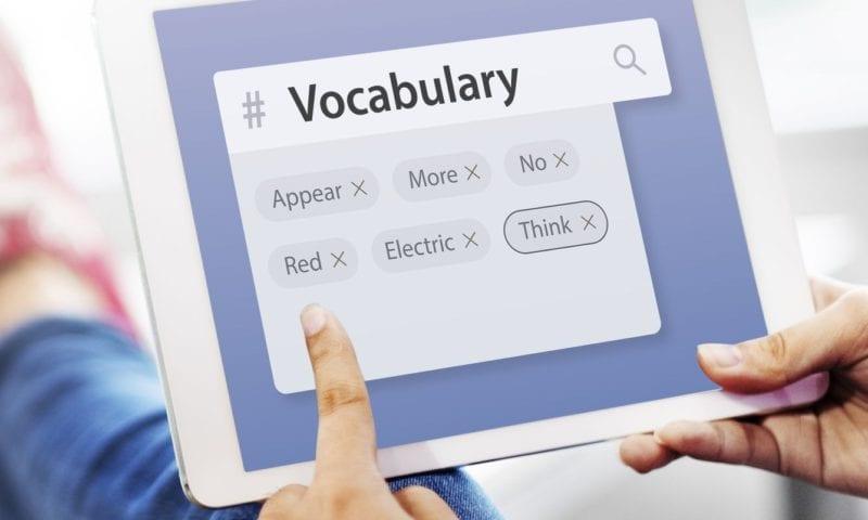 План работы с лексикой при помощи онлайн ресурсов