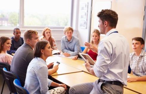 Работа с разноуровневыми студентами