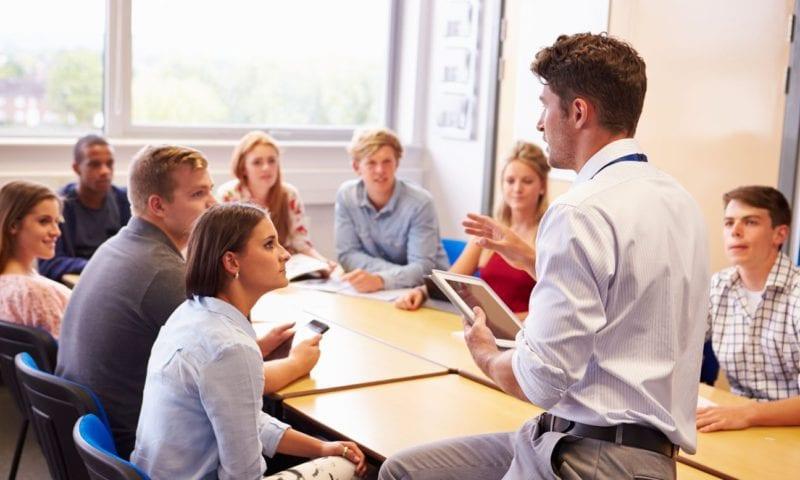 Принципы работы с группой разноуровневых студентов