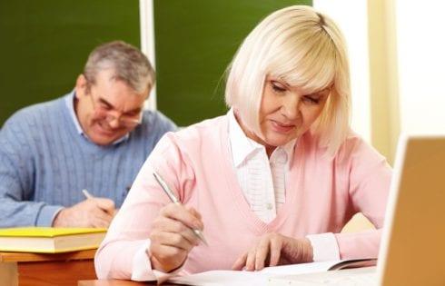 Изучение английского языка возрастными учениками