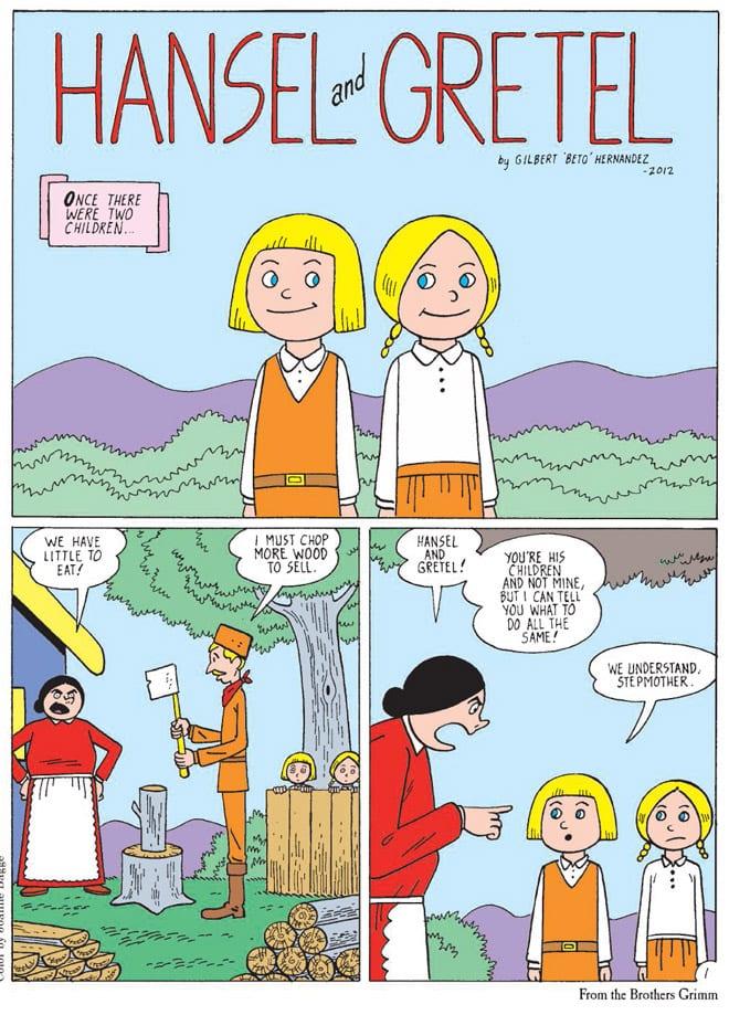 (комикс с сайта Macmillan)