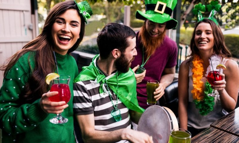 План урока «St. Patrick's Day»