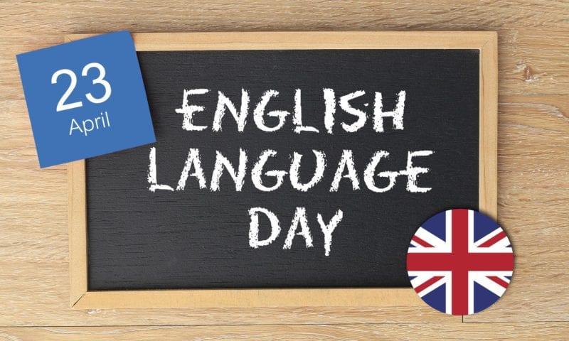 Happy English Language Day!