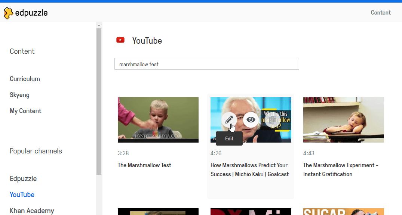 Видеоуроки с Edpuzzle