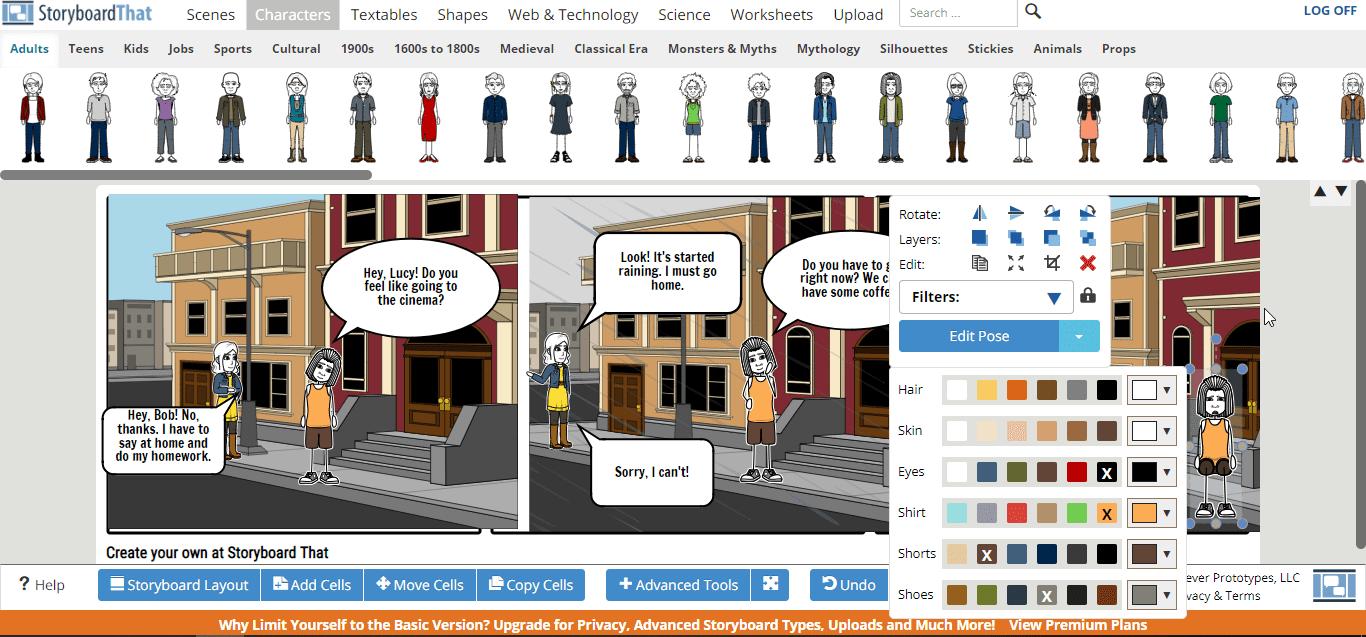 Создание комиксов для занятий с детьми и подростками