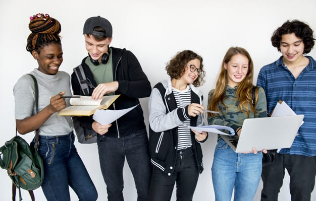 Effective teen collaboration in the lesson